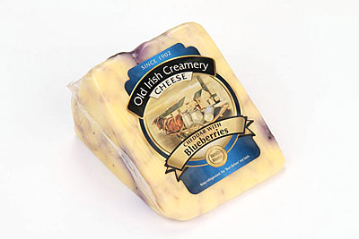 Old Irish Creamery Wild Blueberries Cheddar
