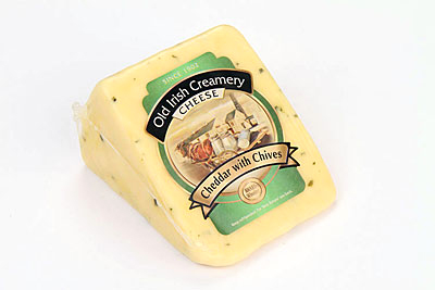 Old Irish Creamery Chives Cheddar