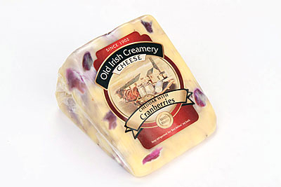 Old Irish Creamery Cranberries Cheddar