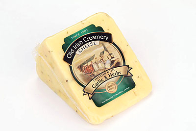 Old Irish Creamery Herb & Garlic Cheddar