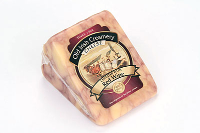 Old Irish Creamery Red Wine Cheddar