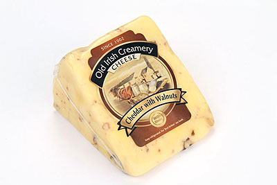 Old Irish Creamery Walnut Cheddar