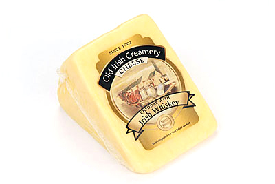 Old Irish Creamery Whiskey Cheddar
